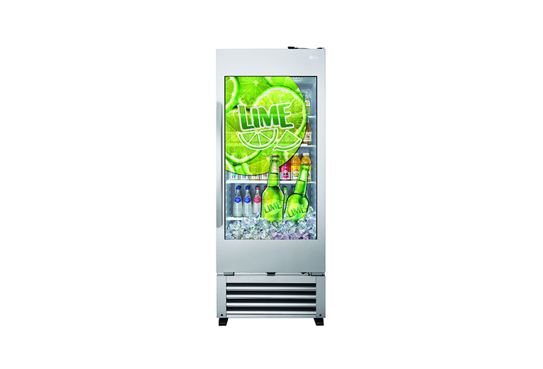 CELLA FRIGO CON DISPLAY  TRASPARENTE