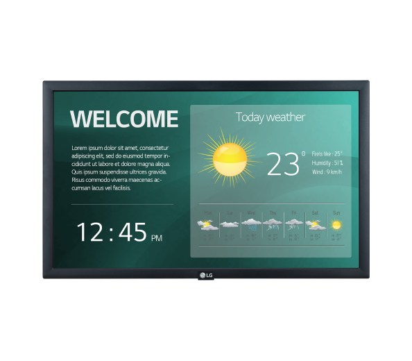 MONITOR SIGNAGE FULL HD 22